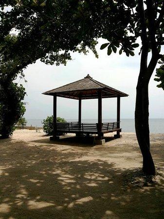 Pulau Bidadari Resort : gazebo