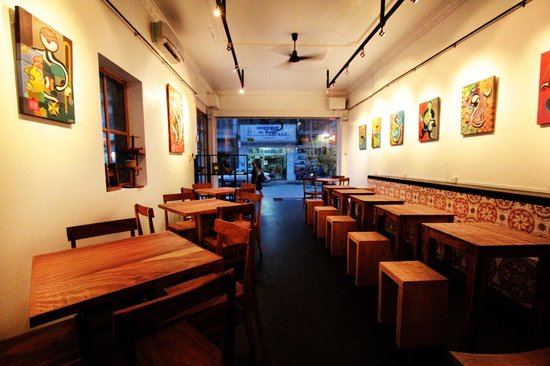 Jaan Bai Restaurant : main dining area