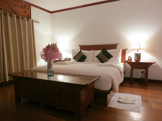 Belmond Governor's Residence : welcome flowers