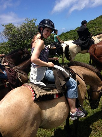 Maui Stables : trail riding