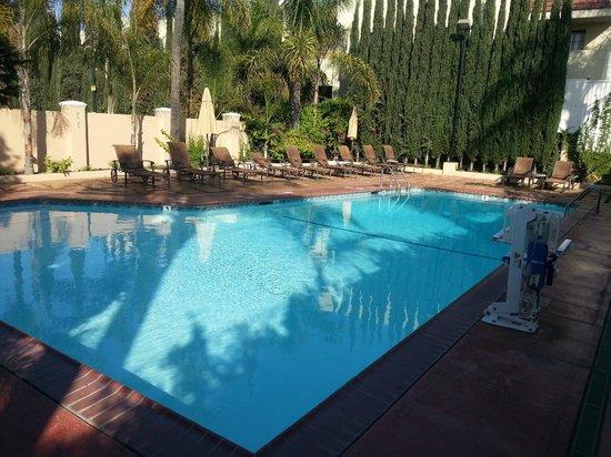 Hollywood Hotel : nice swiming pool