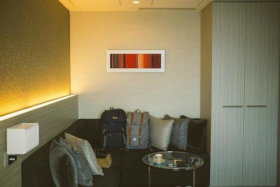 Mitsui Garden Hotel Ginza Premier: sitting area
