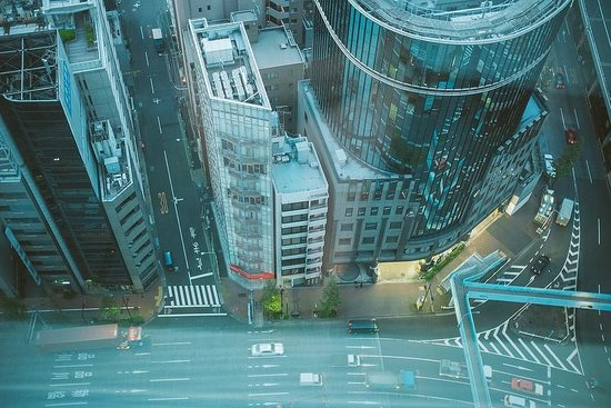 Mitsui Garden Hotel Ginza Premier: view from room