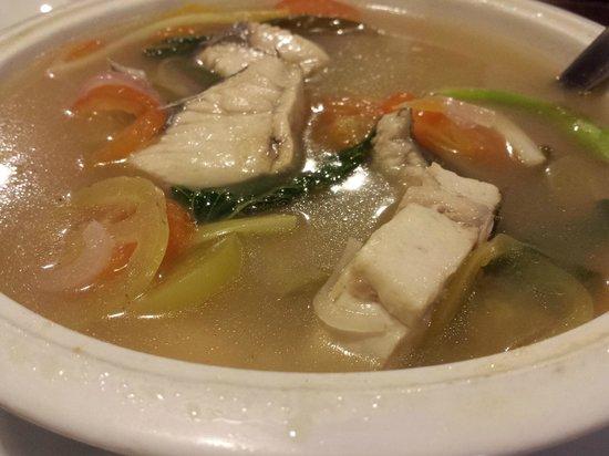 Ocho Seafood Grill : Fish Tinola aka sinigang