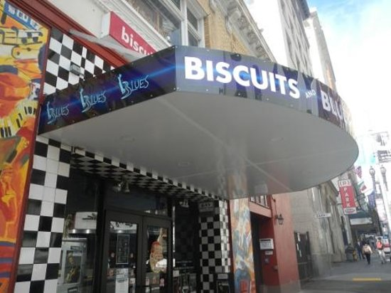 Biscuits and Blues: From outside off Geary St