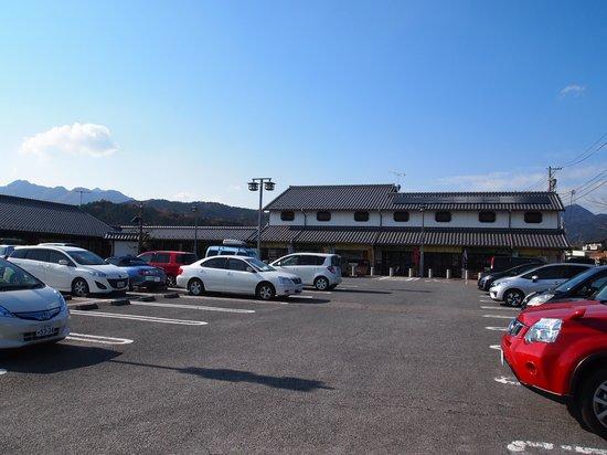 Roadside Station Sekijuku : 町家風の建物