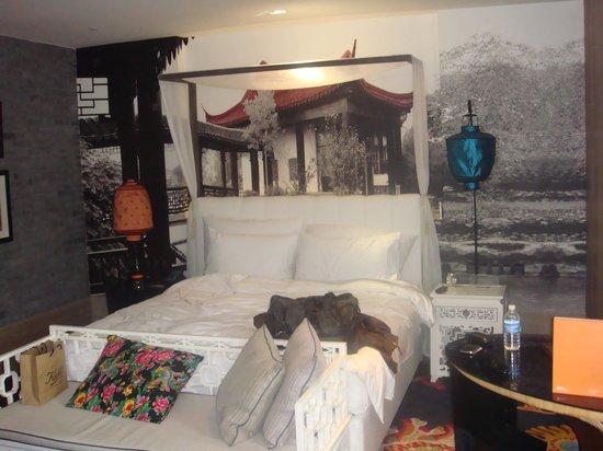 Hotel Indigo Shanghai on the Bund: Unique bedroom