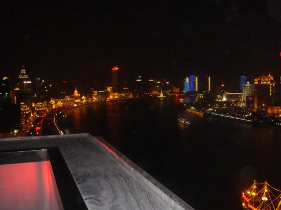 Hotel Indigo Shanghai on the Bund: River view from Char Bar
