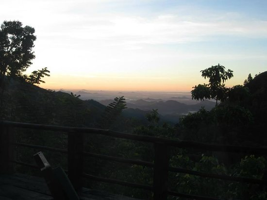 98 Acres Resort and Spa: Early morning view from room