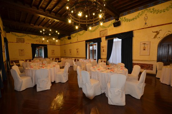Castello della Castelluccia - Salone delle Feste