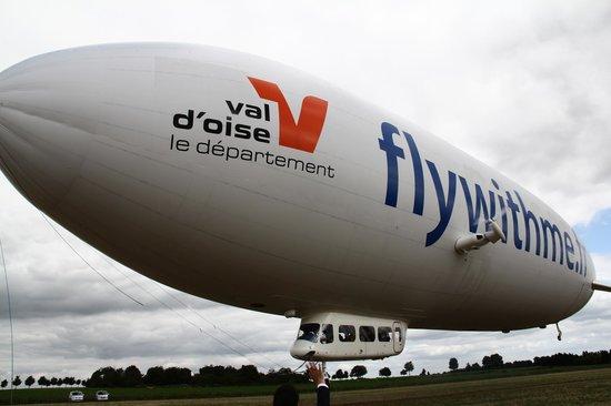 Airship Paris: Le dirigeable qui repart pour le vol suivant... Ce n'est qu'un au revoir :-) !