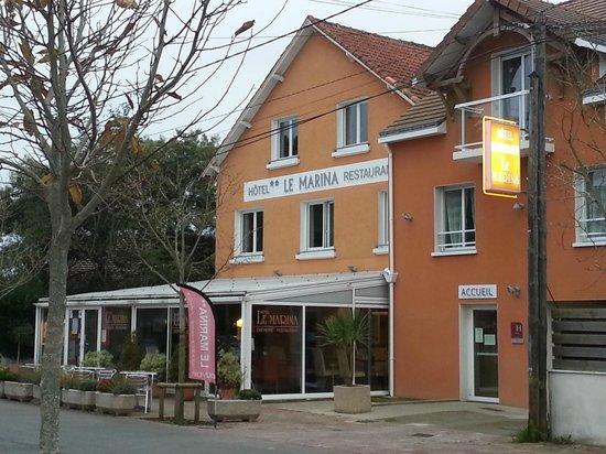 facade hotel LE Marina