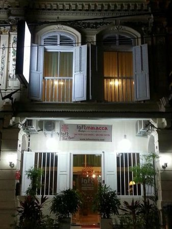 LOFT Malacca Guesthouse & Fusion Cafe: Hotel look
