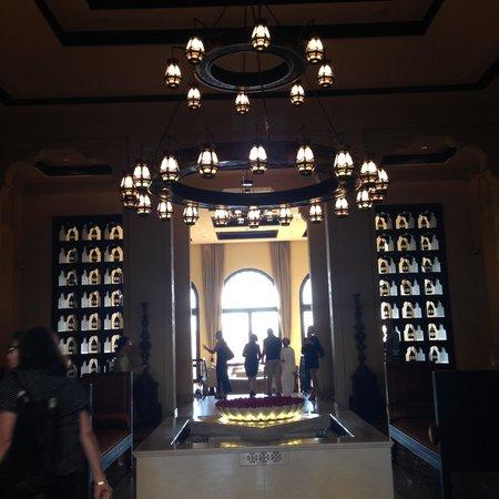Qasr Al Sarab Desert Resort by Anantara: Main entrance