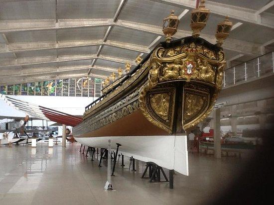 A Ship Picture Of Museu De Marinha Lisbon Tripadvisor