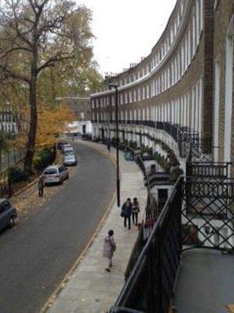 Studios2Let Serviced Apartments - Cartwright Gardens: vue de la fenêtre