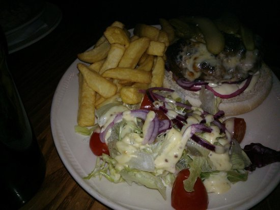 Carrbridge Hotel: Cheeseburger