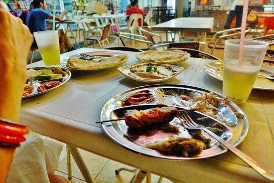 khayrat al-sham Restaurant: Half eaten chicken kebab