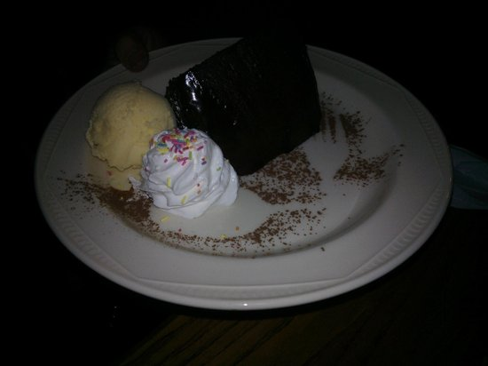 Carrbridge Hotel : Hot Chocolate Fudge Cake