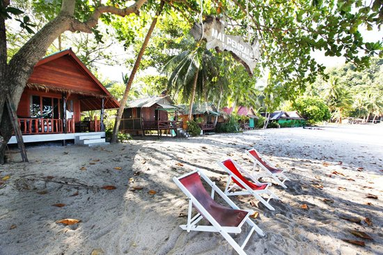 Mai Pen Rai Bungalows: bungalows de la playa