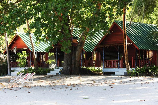 Mai Pen Rai Bungalows: Bungalows zona Playa