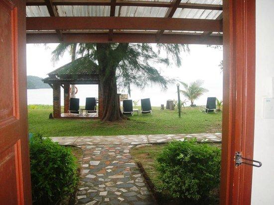 The Frangipani Langkawi Resort & Spa : view from the beach villa room