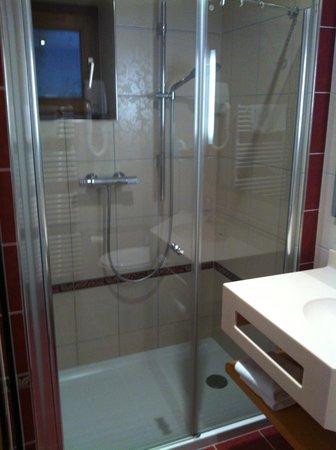 Hotel Saint Martin: douche a l'italienne