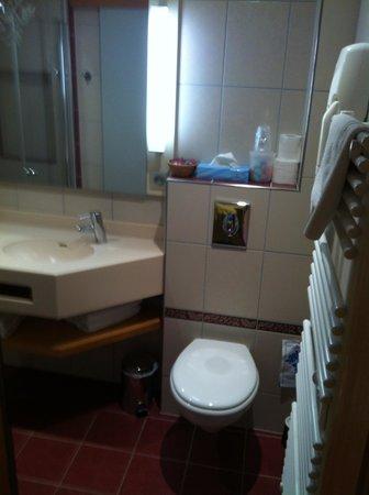 Hotel Saint Martin : la salle de bain