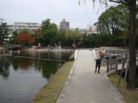 Tokugawa Garden: 徳川園内の池2
