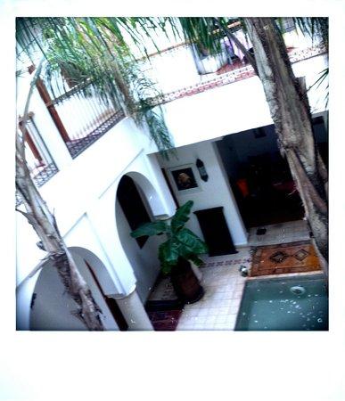 Riad Mariana: Riad's atrium