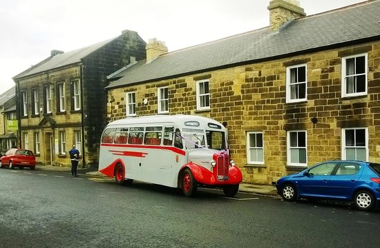 Alnwick Youth Hostel: Arrive in style