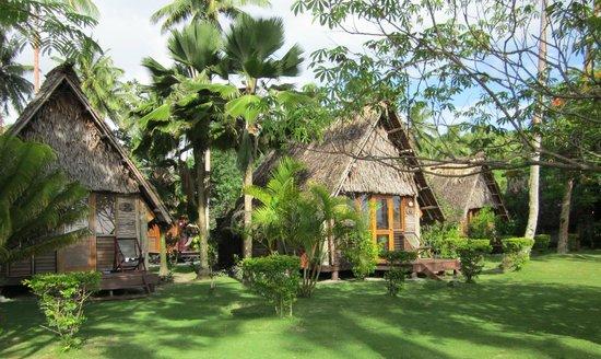 Mango Bay Resort Fiji: Beach front Bures