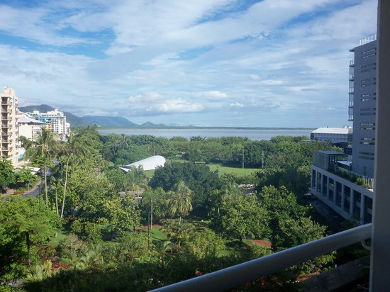 Hilton Cairns: view from 7th floor, city facing