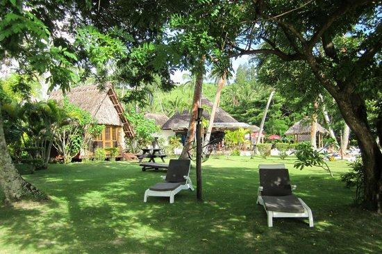 Mango Bay Resort Fiji: nice shade to relax in