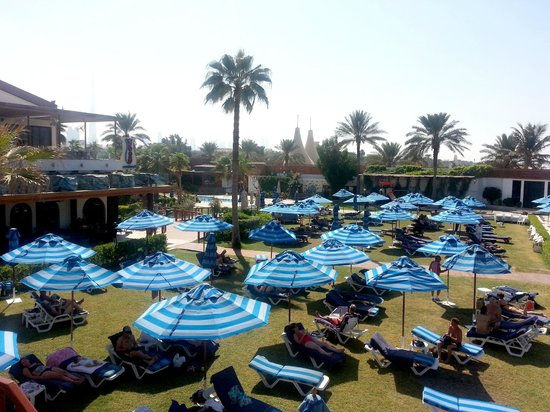 Dubai Marine Beach Resort and Spa : spazio relax tra piscine e spiaggia
