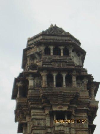 Vijay Stambha : Fort Chittaurgarh, Vijay Stamb – the Top of the Tower