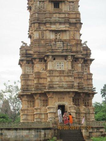 Vijay Stambha : Fort Chittaurgarh, Vijay Stamb – the Base of Vijay Tower