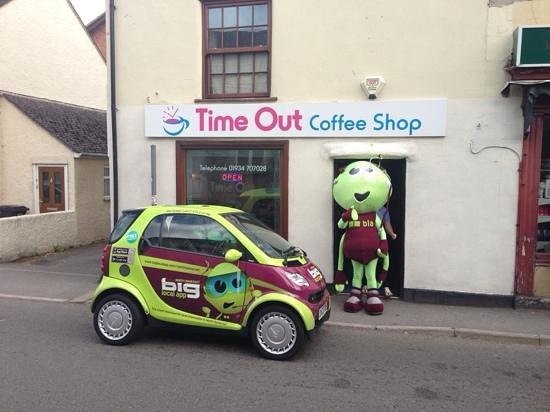 Time Out Coffee Shop: Banwell village coffee shop