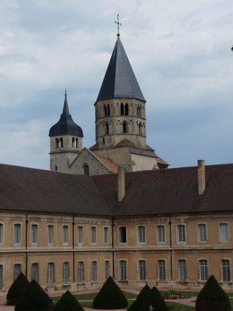 Abbaye de Cluny : Torre principal