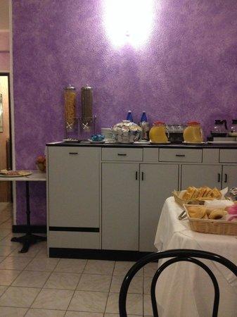 Comfort Hotel Europa Genova City Centre : Saletta colazioni
