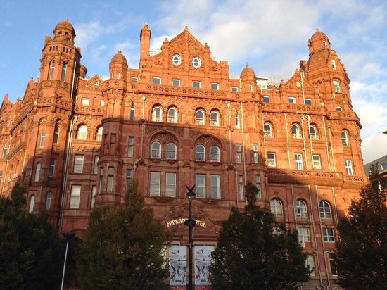The Midland : A beautiful historical building