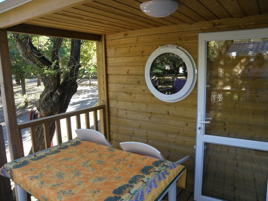 Camping Cote Mer: terrasse