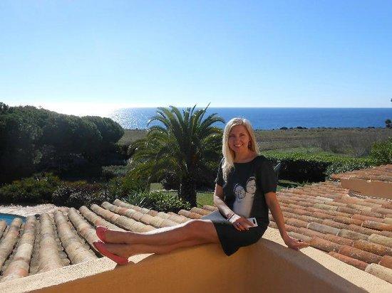 Quinta da Nina : вид на океан из номера...