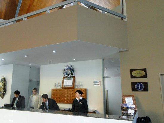 Aranwa Sacred Valley Hotel & Wellness: reception