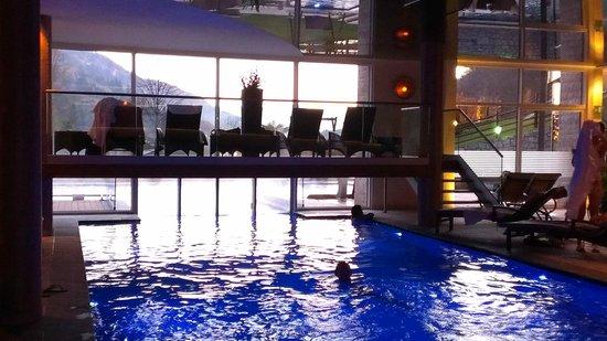 Quellenhof Sport & Wellness Resort: Piscina riscaldata