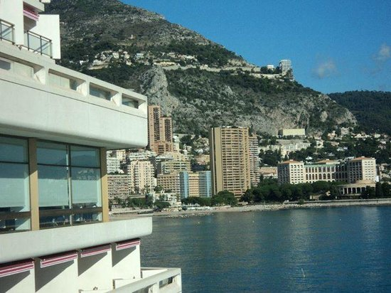 Fairmont Monte Carlo: View from hotel