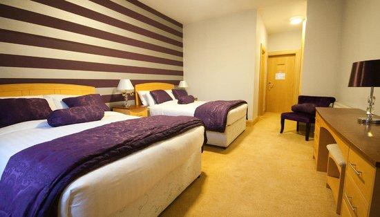 Dublin Airport Manor : Double Double Bedroom