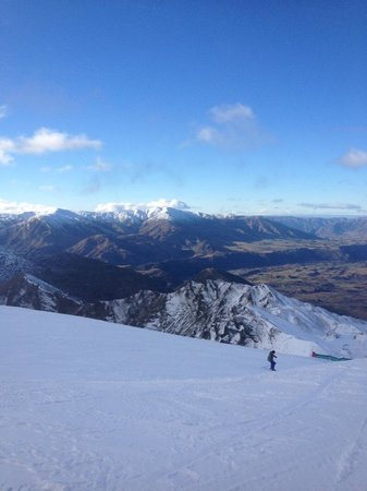 Coronet Peak: View from M1 RUn