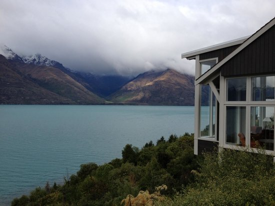Matakauri Lodge: View from Outside of Room