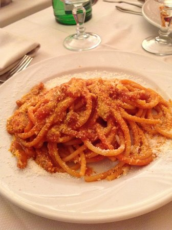 Il Portico : Bucatini all'Amatriciana
